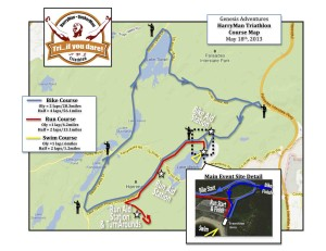 HarryMan Course Map 2013