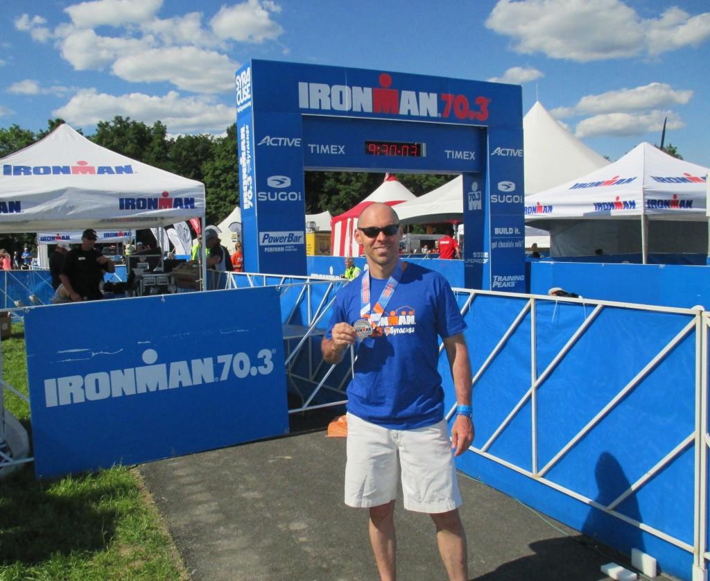 Dan - Syracuse Ironman 70.3 - June 2014