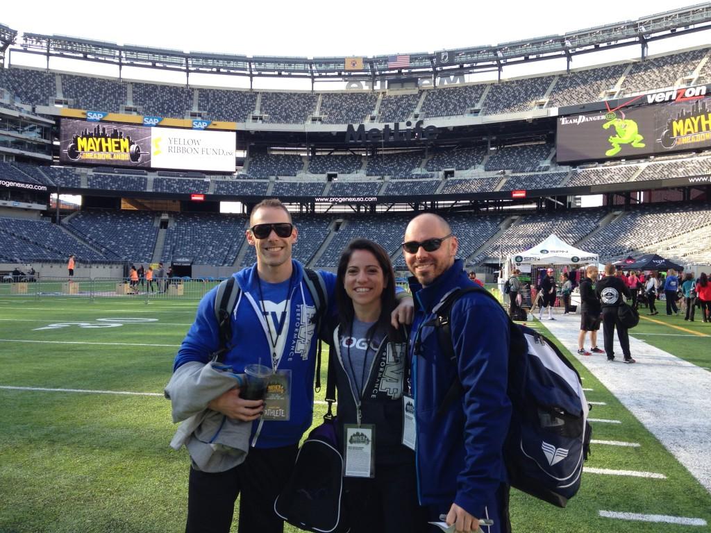 Jay, Carrisa, Dan - Mayhem at the Medolands 2014