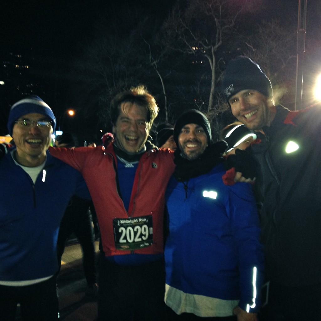Tony, Alex, Me, and Ryan